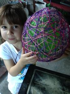 Lily balloon deflate